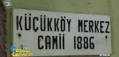 Ayvalık Küçükköy'de gezilecek tarihi mekanlar
