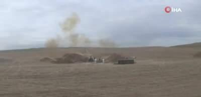 Azerbaycan ordusu, Ermeni ordusuna ait hedefleri vurmaya devam ediyor