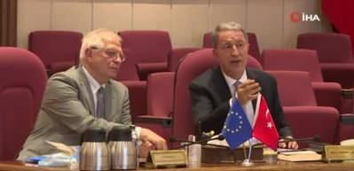 Bakan Akar'dan çok önemli Avrupa Birliği açıklaması