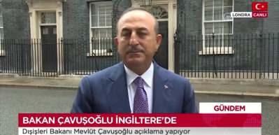 Bakan Çavuşoğlu'ndan Londra'da önemli açıklamalar