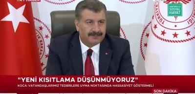 Bakan Koca İstanbul'da alarm veren 6 ilçeyi açıkladı