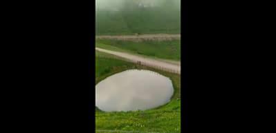 Bakan Kurum paylaştı: Dipsiz Göl'ün son hali