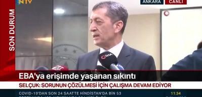 Bakan Selçuk'tan son dakika EBA açıklaması