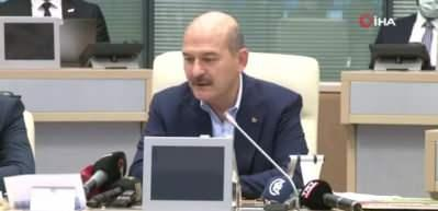 Bakan Soylu'dan ABD Büyükelçiliğinin uyarısına tepki: Erkan ve adaptan yoksun