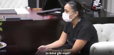 Barikat kurarak saldırı girişiminden kurtulan sağlık çalışanları o anları Bakan Koca'ya anlattı