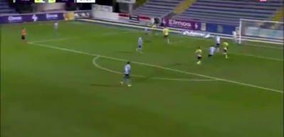 Başakşehir'den Westerlo'ya kiralanan Atabey Çiçek'ten harika bir gol daha!