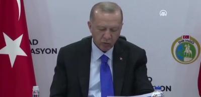 Başkan Erdoğan deprem bölgesinde!