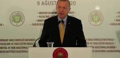 Başkan Erdoğan 'Sahra Hastanesi' skandalıyla muhalefeti eleştirdi