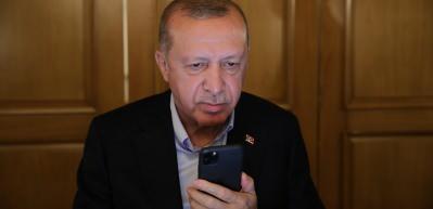 Başkan Erdoğan'dan KKTC Cumhurbaşkanı Tatar'a tebrik telefonu
