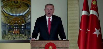 Başkan Erdoğan'dan tarihi günde tarihi Mescid-i Aksa mesajı