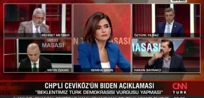 CHP'nin Biden sevdası Bayrakçı'yı çileden çıkardı: Satılmış sizsiniz ulan