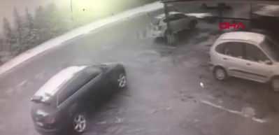 Öldürmeyen Allah öldürmüyor! Ölümden saniyeler içinde kaçış kamerada