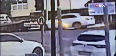 Berdan Mardini'nin eski eşine silahlı saldırı anı kamerada