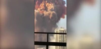 Beyrut'u kana bulayan patlama sonrası Cumhurbaşkanı Erdoğan'ın talimatıyla bölgeye sahra hastanesi kurulacak