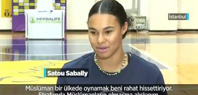 Bir basketbolcudan daha fazlası: Satou Sabally
