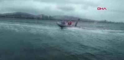 Bostancı'de denize atlayan kadın 2 bin 500 metre açıkta kurtarıldı