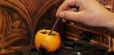 Bu kahve portakalda pişiyor!