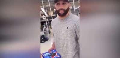 Büyük tepki: Floyd'un ölümüne yol açan polis alışverişte görüntülendi