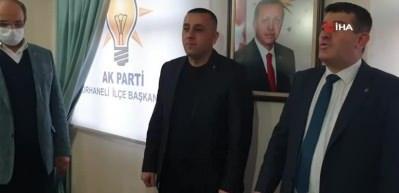 CHP ilçe başkanı AK Parti'ye geçti