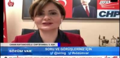 CHP'de skandal! Canan Kaftancıoğlu da darbe imasında bulundu
