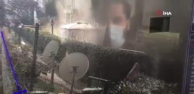 Çılgın Sedat'ın evinde çıkan yangının ilk görüntüleri ortaya çıktı!