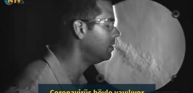 Coronavirüs böyle yayılıyor! Maskeler ne kadar işe yarıyor?