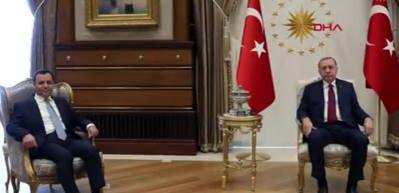 Cumhurbaşkanı Erdoğan, Anayasa Mahkemesi Başkanı Zühtü Arslan'ı kabul etti