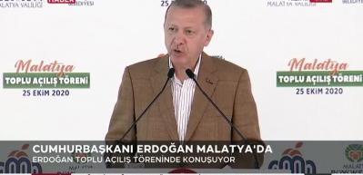 Cumhurbaşkanı Erdoğan: Cumhuriyetimizin 100. yılına her alanda güçlü bir şekilde girmeyi arzu ediyoruz