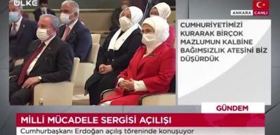 Cumhurbaşkanı Erdoğan: Davamız Türkiye'nin hak ve istiklalinden alınmamasıdır
