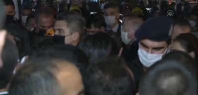 Cumhurbaşkanı Erdoğan, deprem bölgesini ziyaret etti