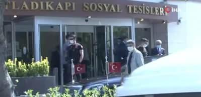 Cumhurbaşkanı Erdoğan, Fatih'te yemek yedi