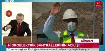 """Cumhurbaşkanı Erdoğan: """"Temiz enerji her yerde bir gurur abidesidir."""""""