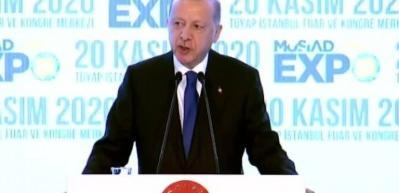 Cumhurbaşkanı Erdoğan: Türkiye pozitif yönde ayrışarak alt yapısının gücünü ortaya koymuştur
