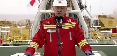 Cumhurbaşkanı Erdoğan: Yeni çalışmalar sonucu 320 milyar metreküplük rezerv 405 milyar metreküpe yükseldi