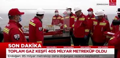 Cumhurbaşkanı Erdoğan'a Fatih gemisinde sürpriz hediye