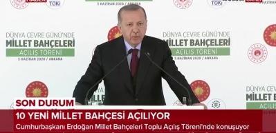 Cumhurbaşkanı Erdoğan'dan önemli açıklamalar: 3 yıl içinde tüm illerde olacak