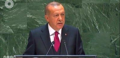Erdoğan'ın BM Genel Kurulu'ndaki muhteşem konuşmasının tamamı!