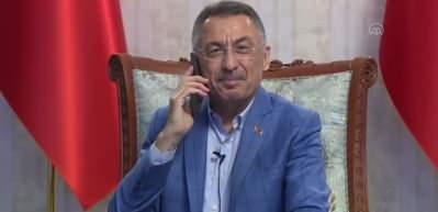 Fuat Oktay, KKTC Cumhurbaşkanı seçilen Ersin Tatar ile telefonda görüştü