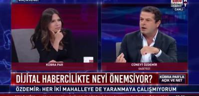 Cüneyt Özdemir: Laiklik değil kafasızlık göstergesi...