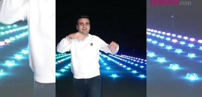 CZN Burak'tan Dubai'de drone şov!