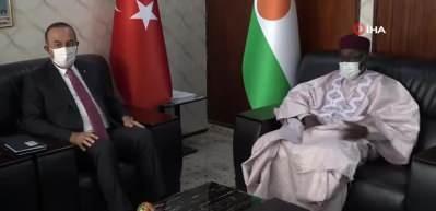 """Bakan Çavuşoğlu: """"Nijer'in kalkınmasında Türkiye olarak katkı sağlamak istiyoruz"""""""