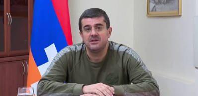 Dağlık Karabağ'ın sözde lideri Harutyunyan'dan canlı yayında itiraf