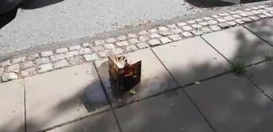 Danimarka'da alçak Kur'an yakma provokasyonu