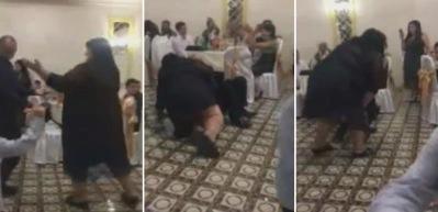 Dans ederken kocasını ezdi
