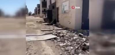 Darbeci Hafter'in saldırıları Trablus'u harabeye çevirdi