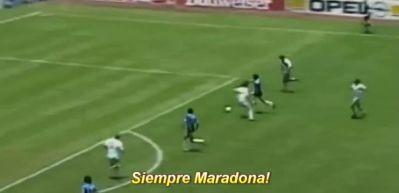 Diego Maradona (Arjantin - İngiltere, 1986)