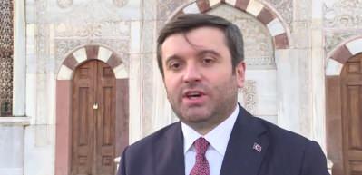 Dışişleri Bakan Yardımcısı Kıran: ''Ayasofya'nın ibadete açılması bir öz güven mesajıdır''