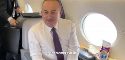 Dışişleri Bakanı Mevlüt Çavuşoğlu'ndan duygulandıran Müslüm Gürses anısı