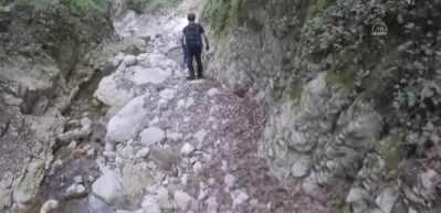 Dombaydere Kanyonu'nda macera dolu bir yürüyüş