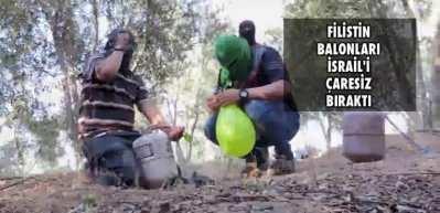 İsrail'in çaresizliği: Balona füze fırlattılar